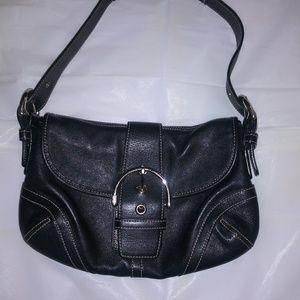 Genuine Leather Coach Hand Bag